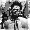 "Leatherface of ""The Texas Chainsaw Massacre"""